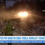 Colapsan dos edificios habitacionales en la Colonia del Valle