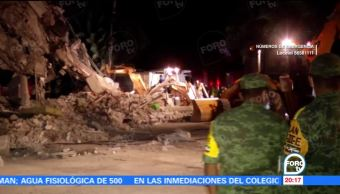 Confirman 32 Muertos Sismo Puebla Tony Gali, Gobernador Puebla