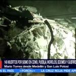Protección Civil Busca Joven Desaparecida Sismo Roma
