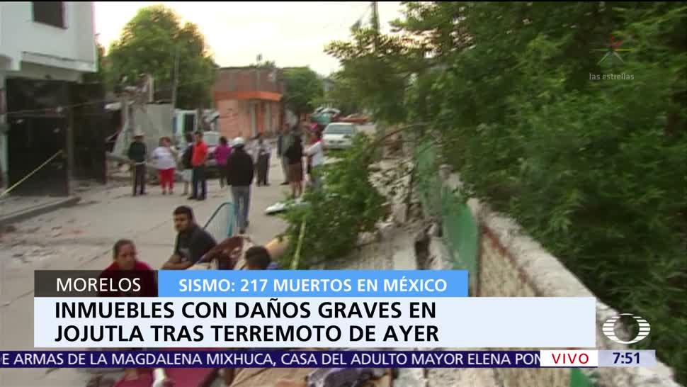 Jojutla es la zona más afectada de Morelos tras el sismo