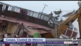 Colapsan dos torres en fraccionamiento de Coapa, CDMX
