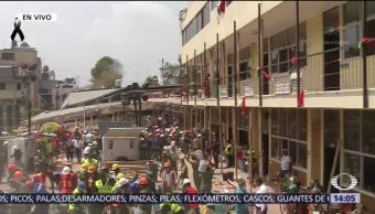 Podría Sobrevivientes Colegio Enrique Rébsamen