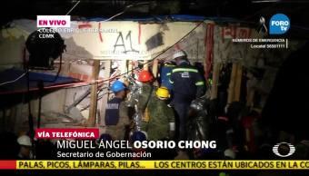 Se atiende situación de emergencia en Morelos y Puebla Chong