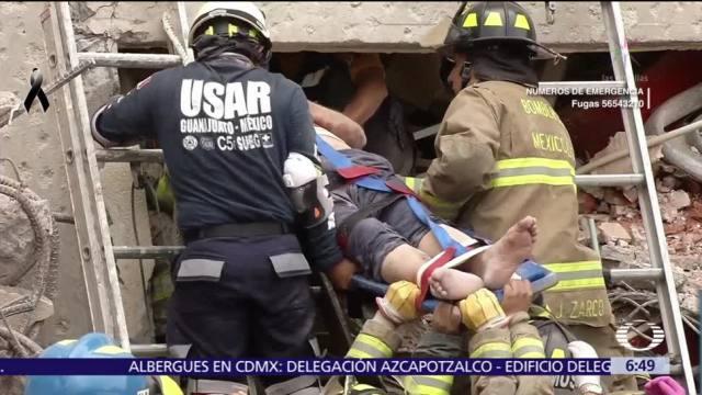 Terremoto en México deja más de mil 800 heridos