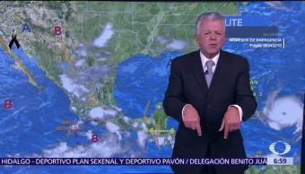 Prevén lluvias y tormentas eléctricas en CDMX por la tarde