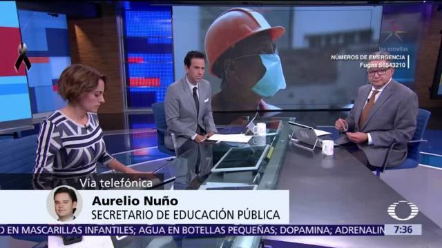 Aurelio Nuño: Podrían reanudarse clases este viernes en el Edomex