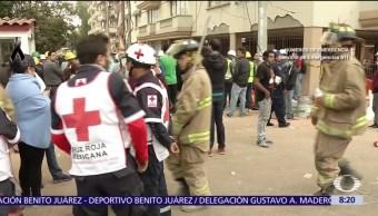 Reportan a un hombre desaparecido tras derrumbe en Lindavista, CDMX