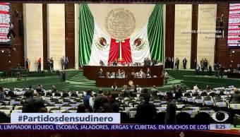 #PartidosDenSuDinero, iniciativa que pide recursos de partidos para damnificados