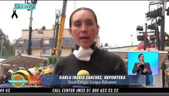 Seguirán Labores Rescate Colegio Enrique Rébsamen