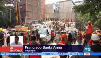 Ejército confirma persona con vida en edificio de Ámsterdam y Laredo
