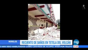 Sismo daña ruta de exconventos en Morelos
