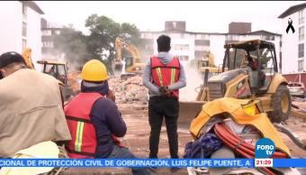 Sobreviviente del sismo de Los Girasoles reconfortan a damnificados