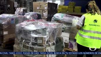 Desde NY llega ayuda humanitaria a Oaxaca