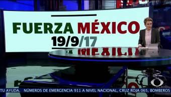 El México solidario Cientos de mexicanos se vuelcan a las calles