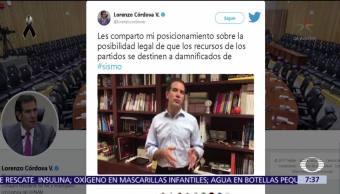 INE y partidos emiten postura ante la campaña #PartidosDenSuDinero