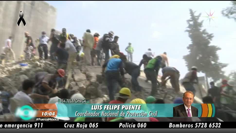 Luis Felipe Puente La ciudadanía reaccionó muy bien