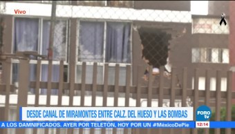 Reportan daños en unidades habitacionales de Miramontes CDMX tras terremoto