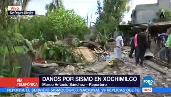Energía eléctrica se restablece en Xochimilco tras el sismo