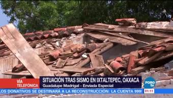 Sismo del sábado afectaciones y réplicas del 7 de septiembre Oaxaca