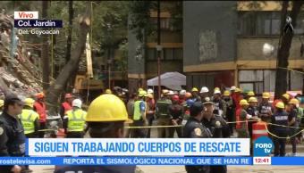 No terminan trabajos de rescate en multifamiliar en colonia Jardín