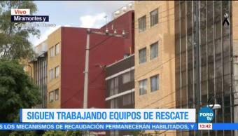 Marina resguarda edificios con daños estructurales en Miramontes