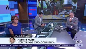 Aurelio Nuño: Delegación Tlalpan debe responder por derrumbe en colegio Enrique Rébsamen