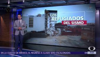 Miles de familias pierden su casa tras sismo del 19-S en CDMX
