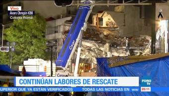 Cuarenta familias se mantienen a la expectativa en Álvaro Obregón 286