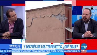 El apoyo debe continuar después de los terremotos: Alejandro Hope