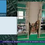 #DenunciaenDespierta: Daños en edificio de la PGJ CDMX tras sismo