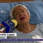 Mujer de 87 años sobrevivió 32 horas bajo escombros tras sismo CDMX