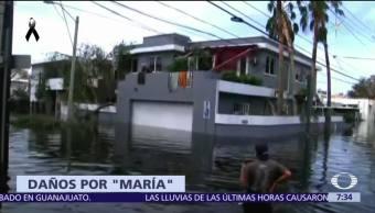 El huracán 'María' avanza y deja destrucción por el Caribe