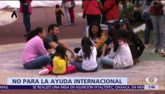 Comunidad mexicana en el extranjero apoya a damnificados del sismo