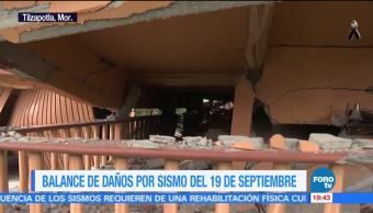 Pobladores de Tilzapotla se quedan sin nada tras el sismo del 19-S