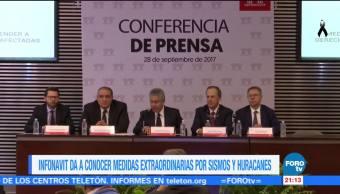 Infonavit destinará 2 mil mdp para afectaciones por sismo en México