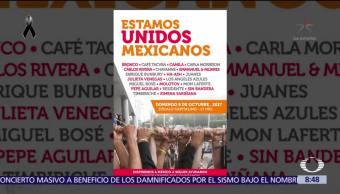 Concierto en apoyo a víctimas del sismo será en el Zócalo CDMX