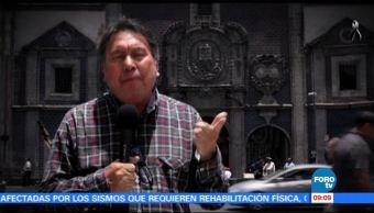 Armando Ramírez se fue a conocer el edificio del Archivo de Notarías