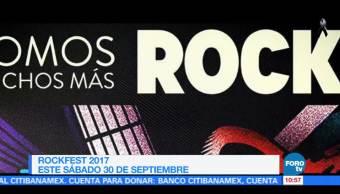 Ximena Cervantes presenta un reportaje sobre los detalles del Rockfest