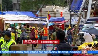 Suman 38 cuerpos recuperados en Álvaro Obregón 286