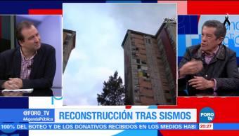 La reconstrucción tras los sismos en México