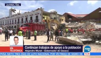41 Municipios Afectados Oaxaca Sismos Gobernador De Oaxaca, Alejandro Murat