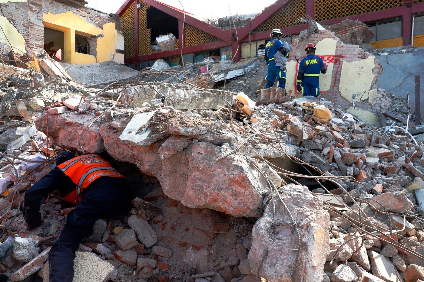Resultado de imagen para sismo en mexico