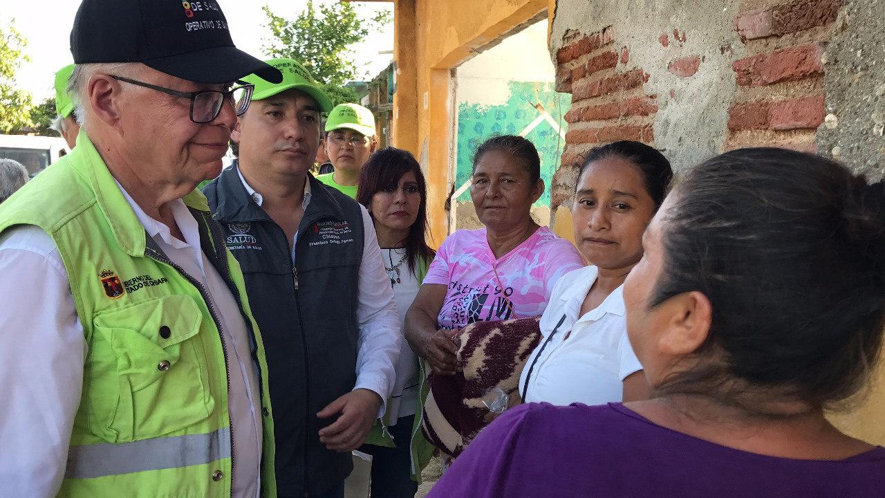 Ssa evitar enfermedades municipios afectados sismos