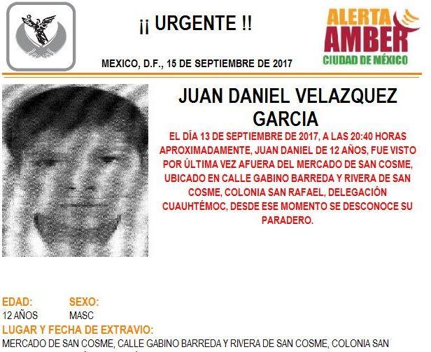 Desaparece chica de 15 años tras abordar taxi en CDMX