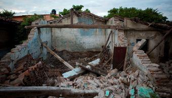 afectaciones en casas por sismos en oaxaca