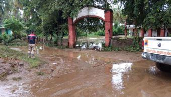 max huracan pico monte guerrero inundacion