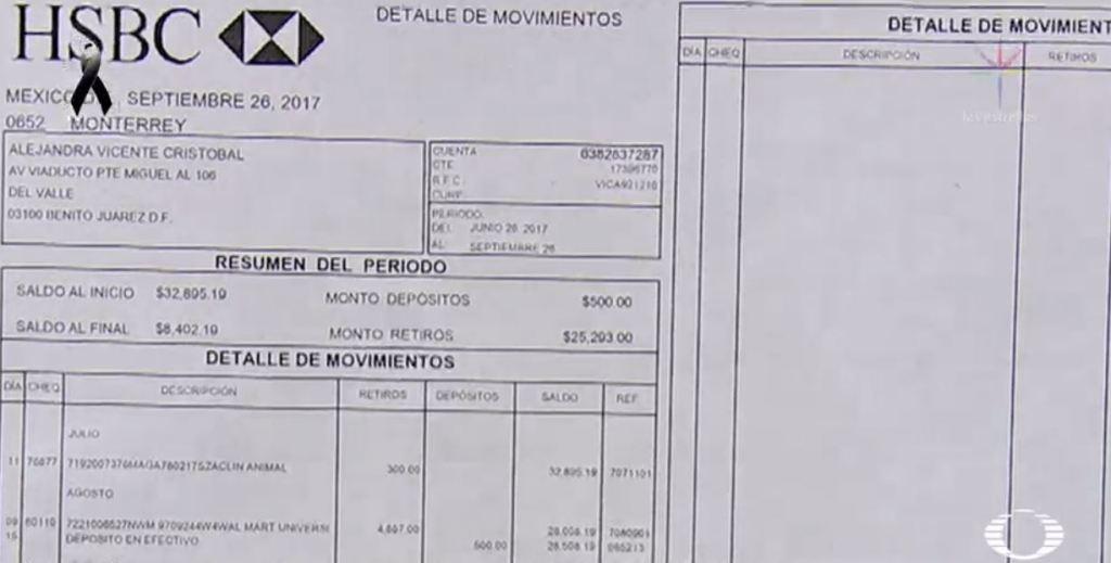 Alejandra muere en el derrumbe de Torreón y Viaducto, roban su tarjeta entre los escombros