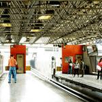 Andén de la Línea 2 del Metro CDMX