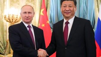 Xi Jinping y Putin se reúnen en China tras ensayo nuclear norcoreano