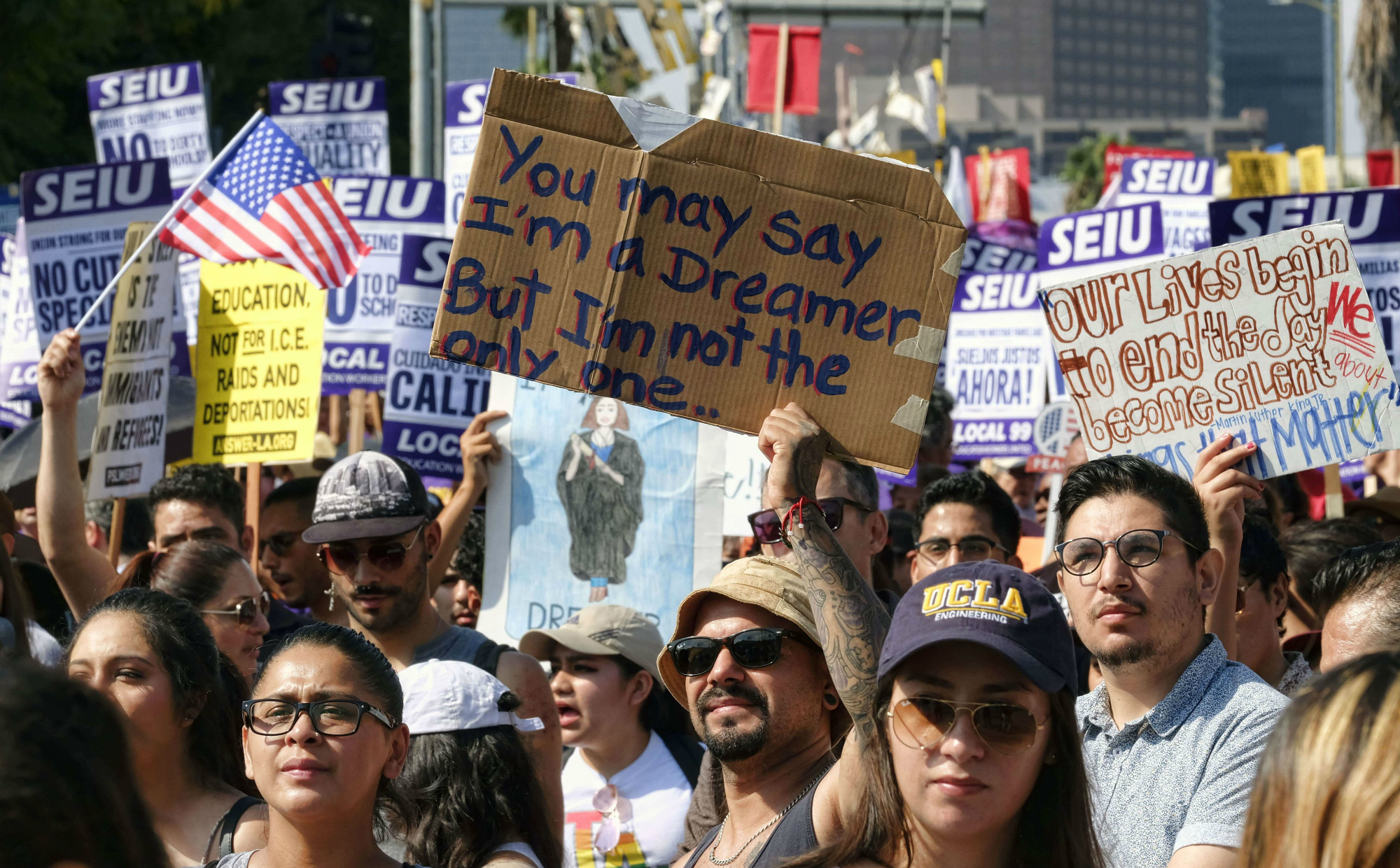 Daca, Dreamers, Trump, Estados Unidos, protesta